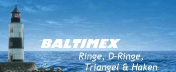 Ringe, D-Ringe, Triangel, Haken