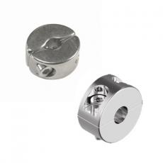 Klemmring zweiteilig Edelstahl V4A  -  2mm, 3mm, 4mm, 5mm, 6mm, 8mm