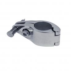 Rohrschlitten, Rohrmittelstück klappbar - 22MM, 25MM, 30MM - Edelstahl V4A 316 poliert