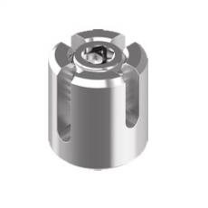 Kreuzklemme geschlossen Edelstahl V4A  -  2mm, 3mm, 4mm, 5mm, 6mm