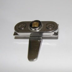 Möbelschloss, Kistenschloss 50 x 12 V2A mit Schlüssel