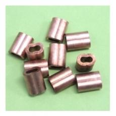 10 Stk. 1,5MM Kupfer - Presshülse ähnl. Nicopress