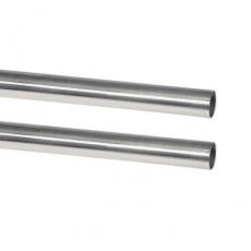 Edelstahlrohr hochglanzpoliert mit 22MM Außendurchmesser - V2A, AISI 304