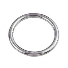 1 Stk. Ring 3 x 20 mm poliert Edelstahl V4A AISI 316