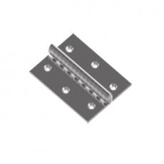 Scharnier rechteckig 40 x 40 V2A