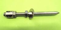 Abstandshalter f. Rankhilfe 4mm/80/160mm Wandhalter Edelstahl