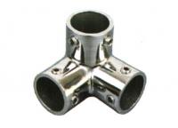 Rohrverbinder 3-Wege 25mm Edelstahl V4A AISI 316