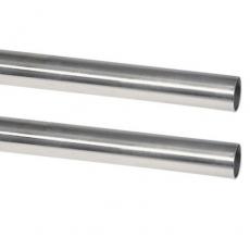 Edelstahlrohr hochglanzpoliert mit 25MM Außendurchmesser - V2A, AISI 304