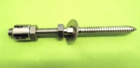 Abstandshalter f. Rankhilfe 3mm/50/120mm Wandhalter Edelstahl