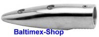 22 mm 5 1/2 Grad Handlaufendstück Edelstahl V4A AISI 316