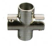 Rohrverbinder 4-Wege 25mm Edelstahl V4A AISI 316
