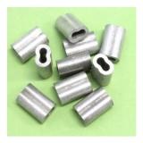 10 Stk. 3.0-3.5 mm Nicopress Presshülsen Cu verz.