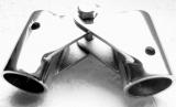 Bimini Gelenk 20, 22, 25 mm Edelstahl A4 poliert Rohrgelenk