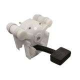 Fußpumpe Kunststoff 9 l/min Wasserpumpe Fußwasserpumpe