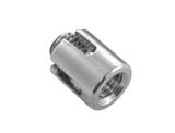 Kreuzklemme offen mit Gewinde Edelstahl V4A  -  3mm, 4mm, 5mm,