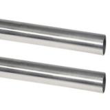 Edelstahlrohr hochglanzpoliert mit 30MM Außendurchmesser - V4A, AISI 316