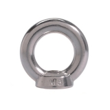 1 Stk. M24 Ringmutter ähnlich DIN 582 Edelstahl V4A AISI316
