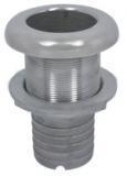 1 Zoll Borddurchlass mit Schlauchanschluss Edelstahl V4A AISI 31