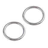 1 Stk. Ring 3 x 15 mm poliert Edelstahl V4A AISI 316