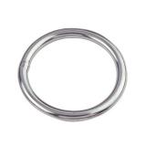 1 Stk. Ring 4 x 25 mm poliert Edelstahl V4A AISI 316