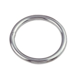 1 Stk. Ring 10 x 50 mm poliert Edelstahl V4A AISI 316