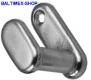 Kleiderhaken Nr.6 30X37mm Edelstahl V2A poliert