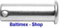 5 Stk. Steckbolzen 6x20 mm Edelstahl V4A AISI 316